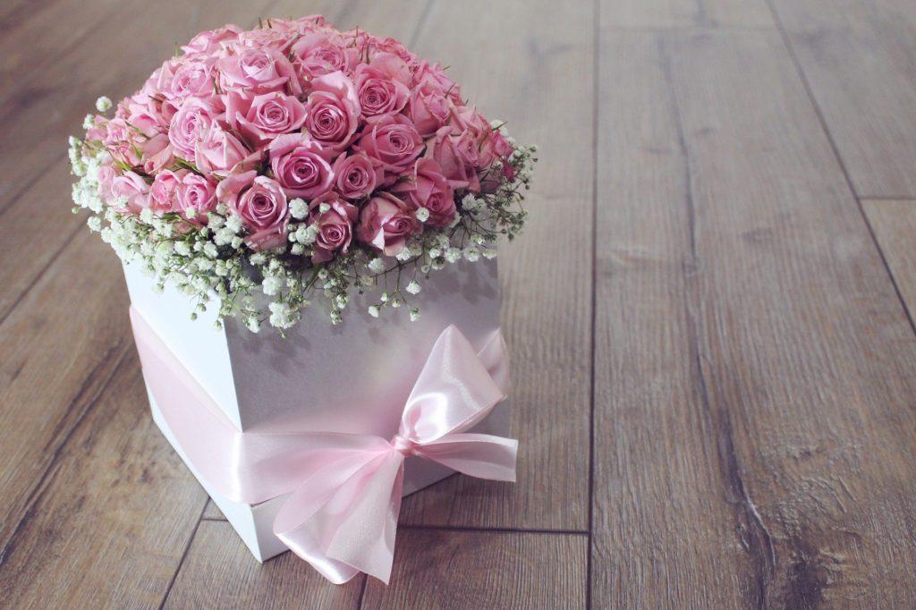 bouquet en cadeau