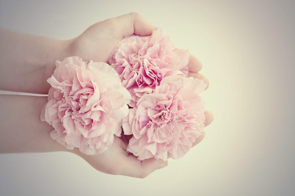 préparation de bouquet