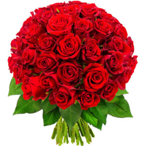 Bouquet-de-50-roses-rouge