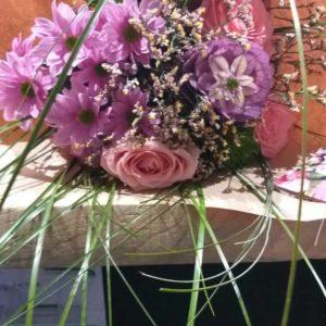 bouquet composé violet