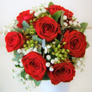 bouquet de fleurs de la Saint-Valentin