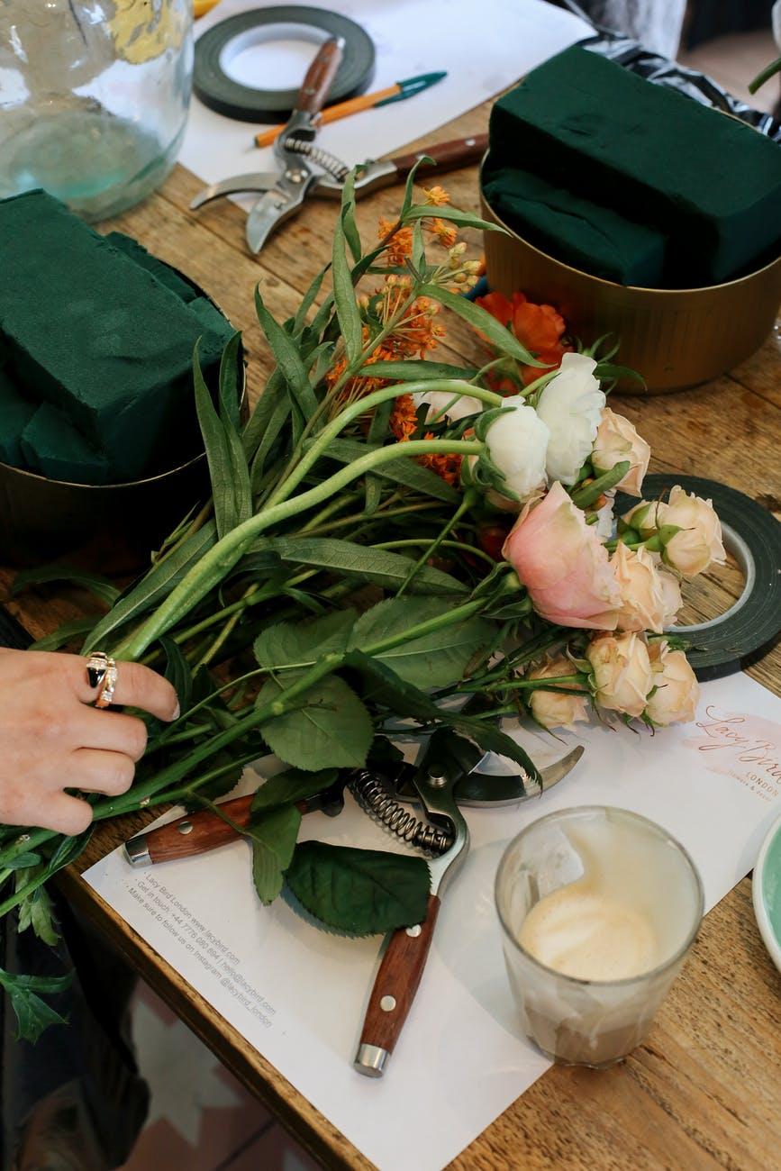 Abonnement fleurs DIY