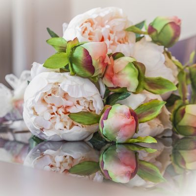 bouquets de pivoines